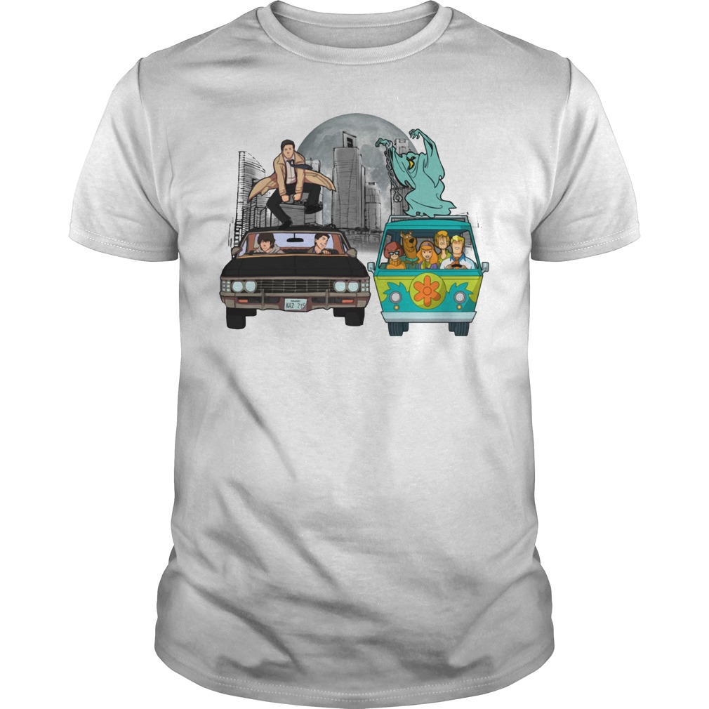 Supernatural and Scooby Doo: Scooby gangs natural shirt
