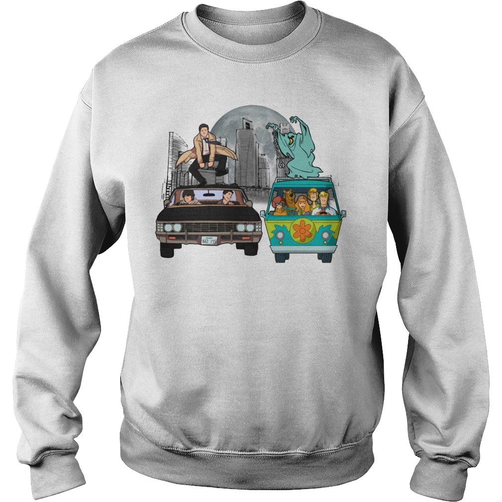 Supernatural and Scooby Doo: Scooby gangs natural Sweater
