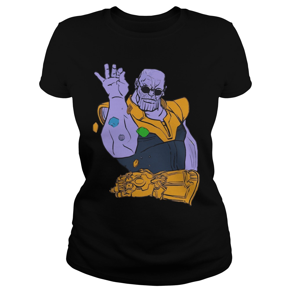 Thanos the Salt Bae Avengers Infinity War Ladies tee