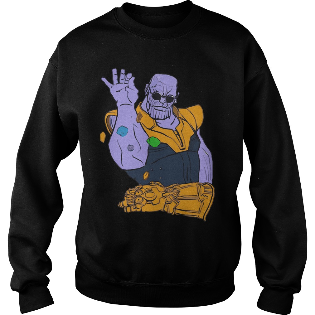 Thanos the Salt Bae Avengers Infinity War Sweater