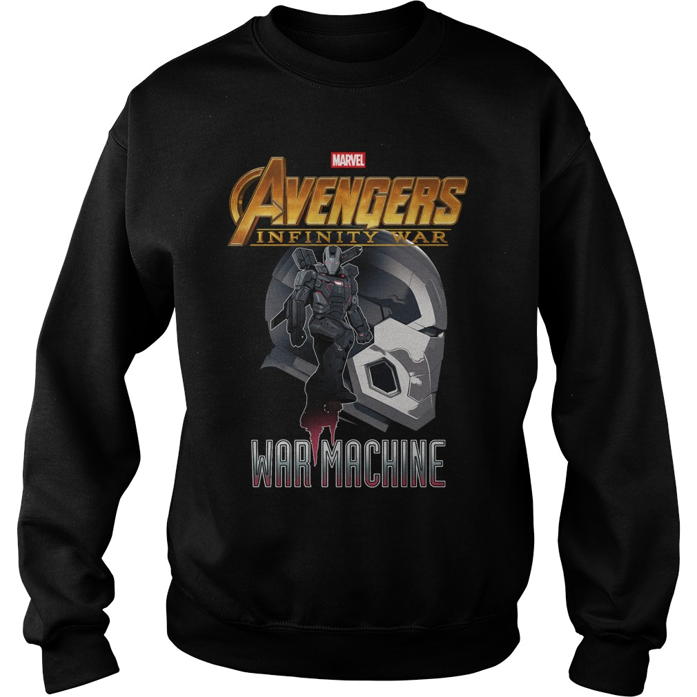 War Machine Profile Marvel Avenger Infinity War Sweater