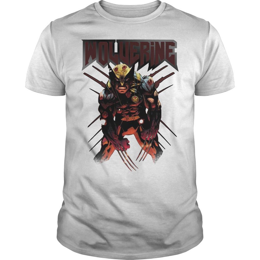 Wolverine Attacks shirt