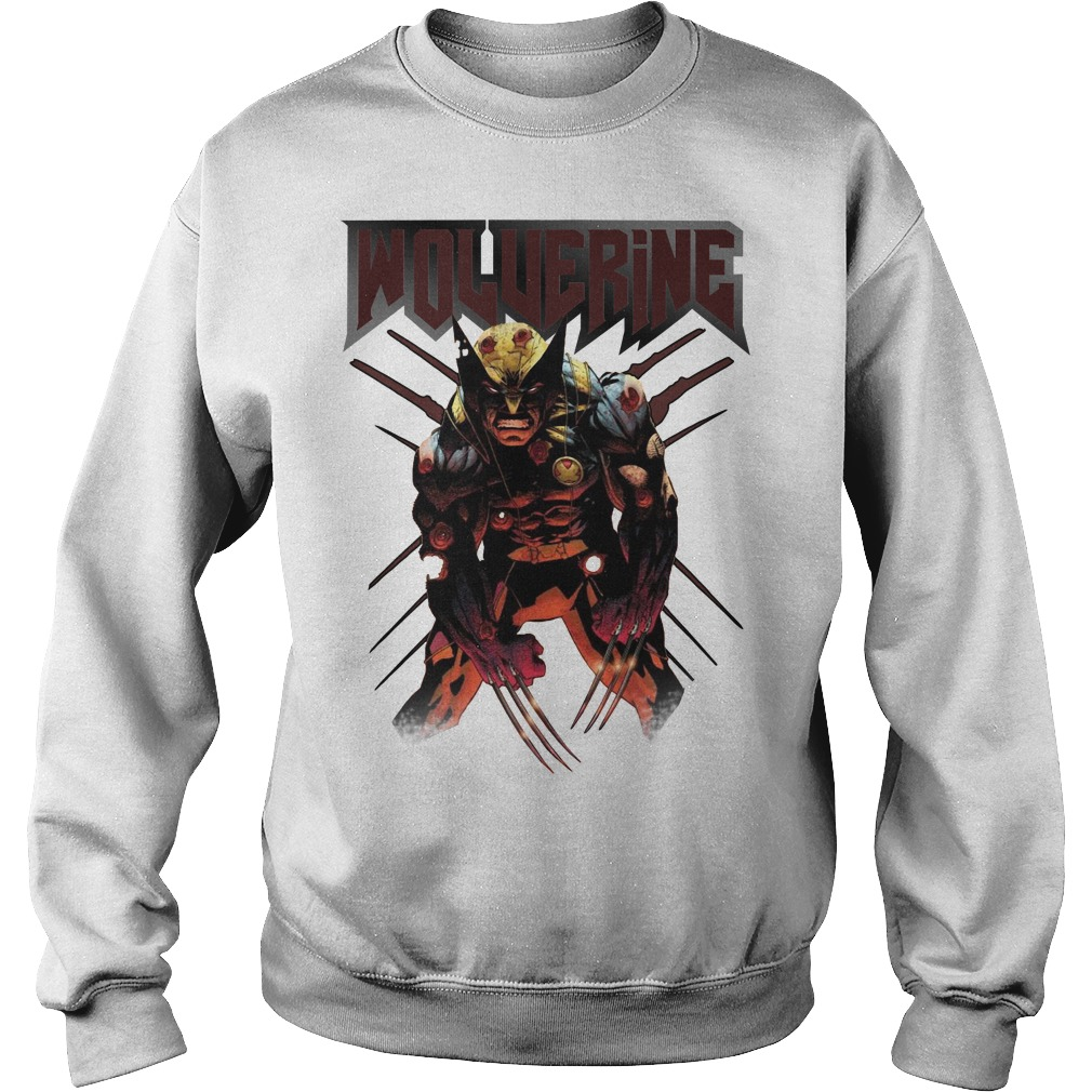 Wolverine Attacks Sweater