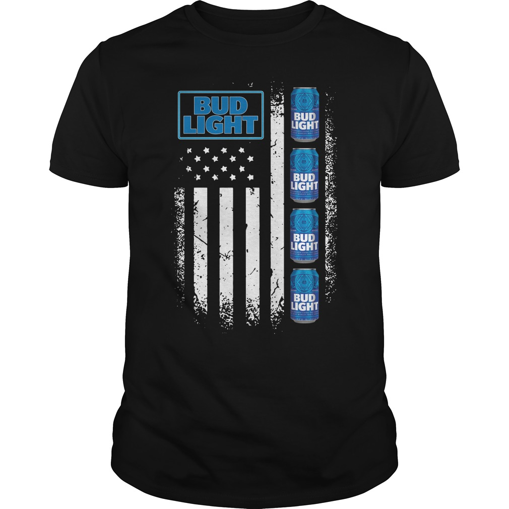 America Flag Bud Light shirt
