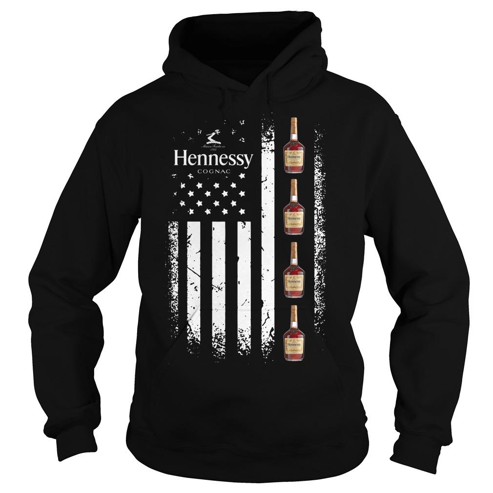 America Flag Hennessy Hoodie
