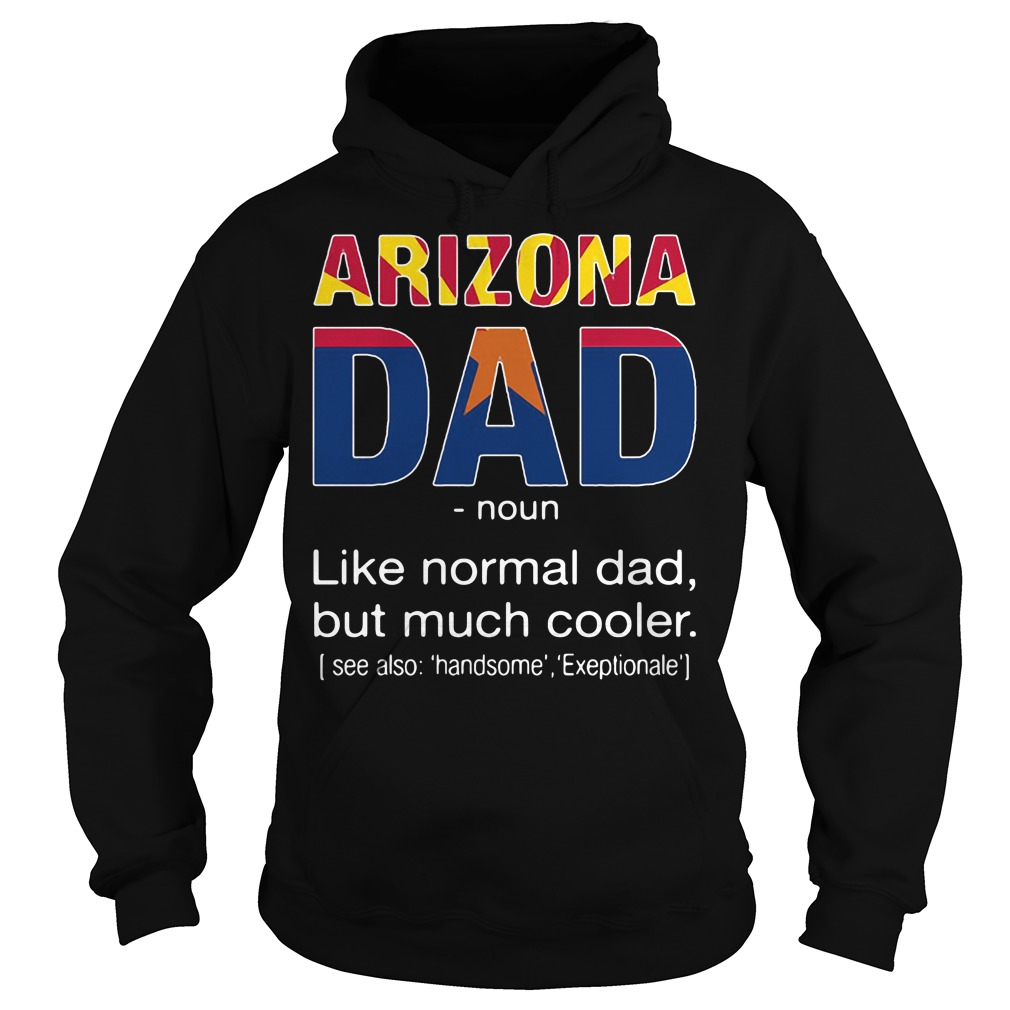 Arizona Dad Definition Meaning like normal dad but much cooler Hoodie