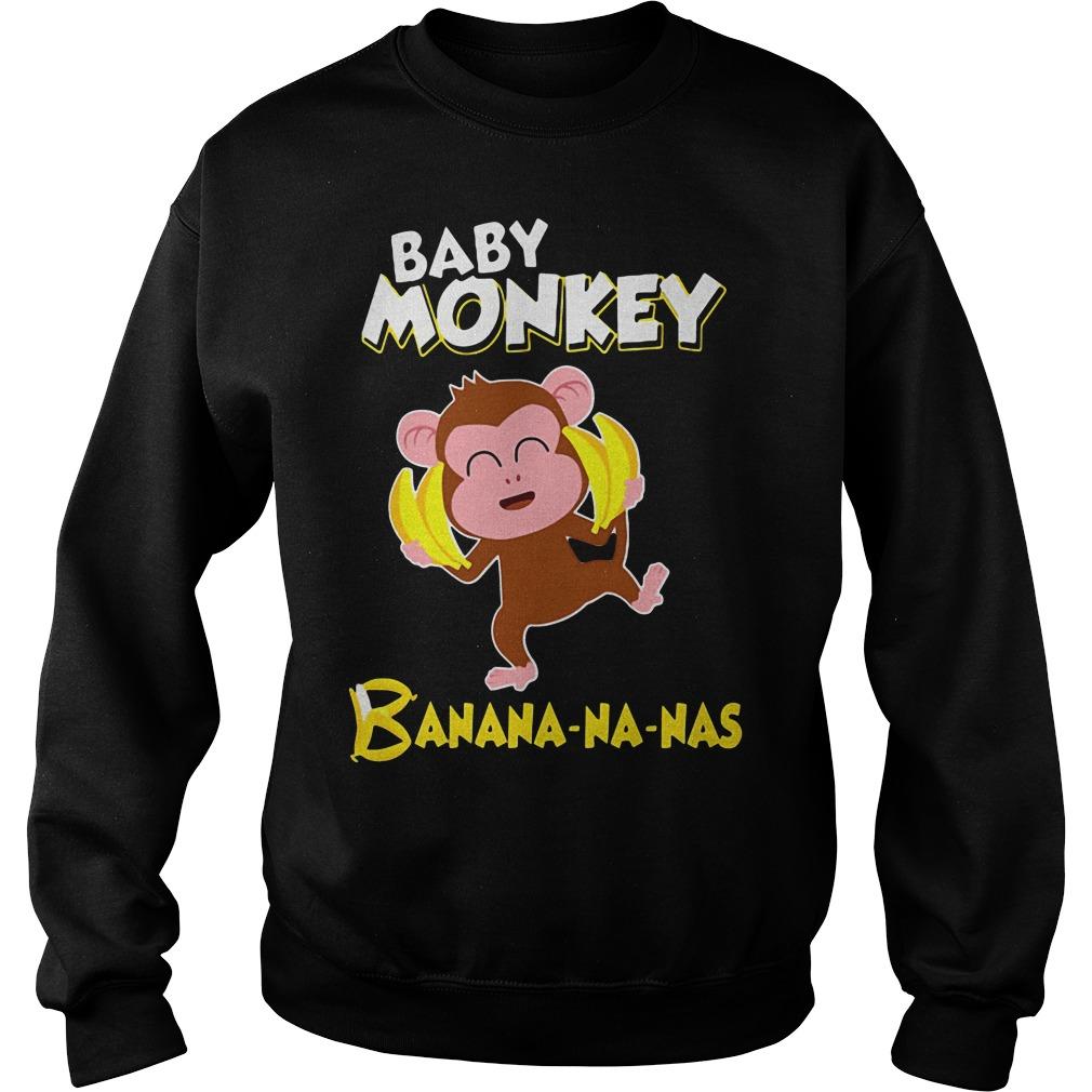 Baby monkey Banana-na-nas Sweater