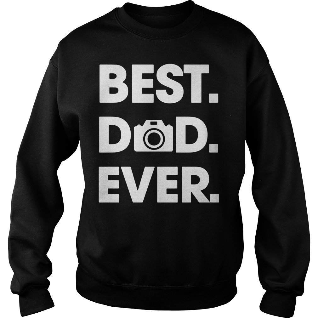 Best Dad ever Camera Sweater