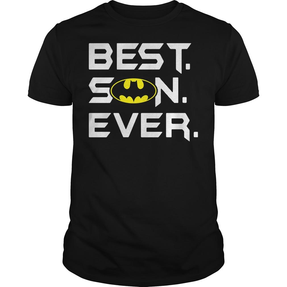Best son ever Batman shirt