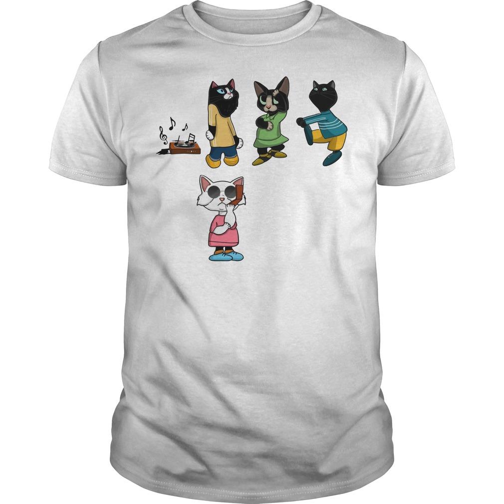 Black Cat BBQ Snitch shirt