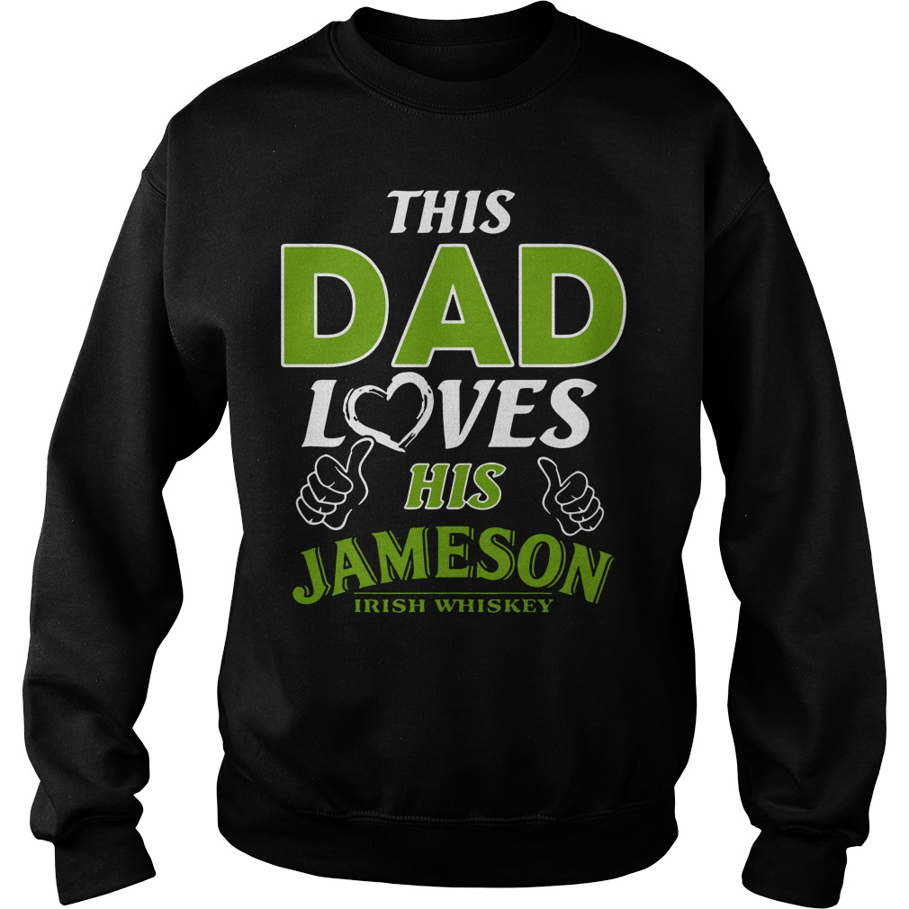 This Dad loves his Jameson Irish Whiskey Sweater