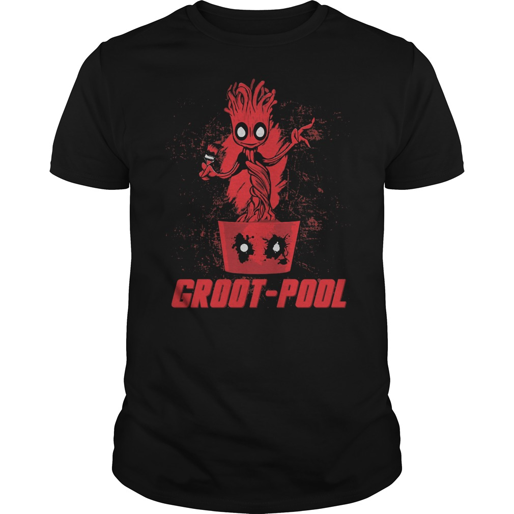 Deadpool Groot pool Guardians of the Galaxy shirt
