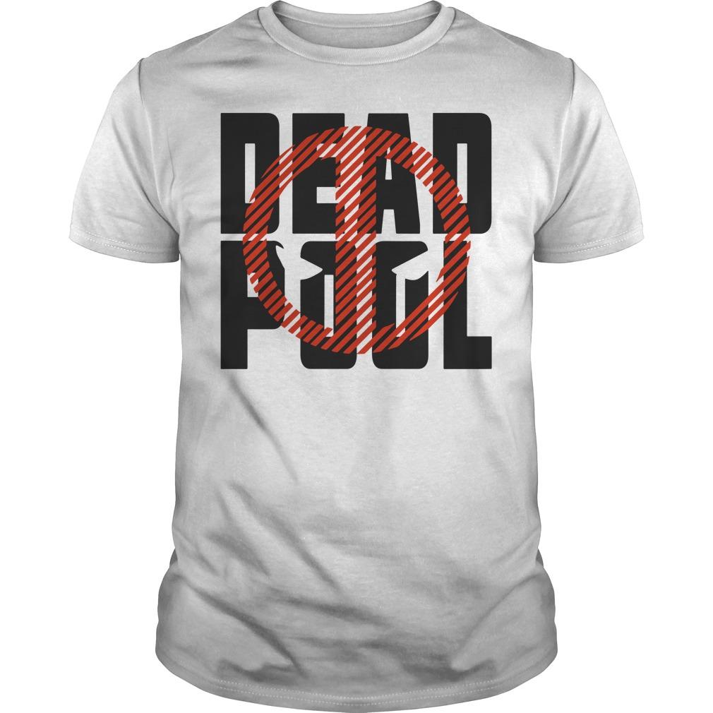 Deadpool Wisecracking Mercenary shirt