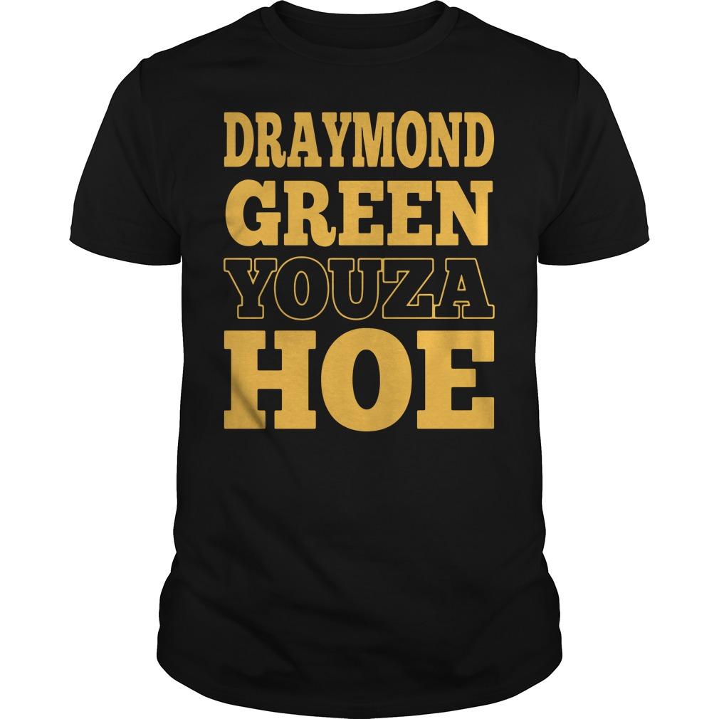 Draymond Green youza hoe shirt