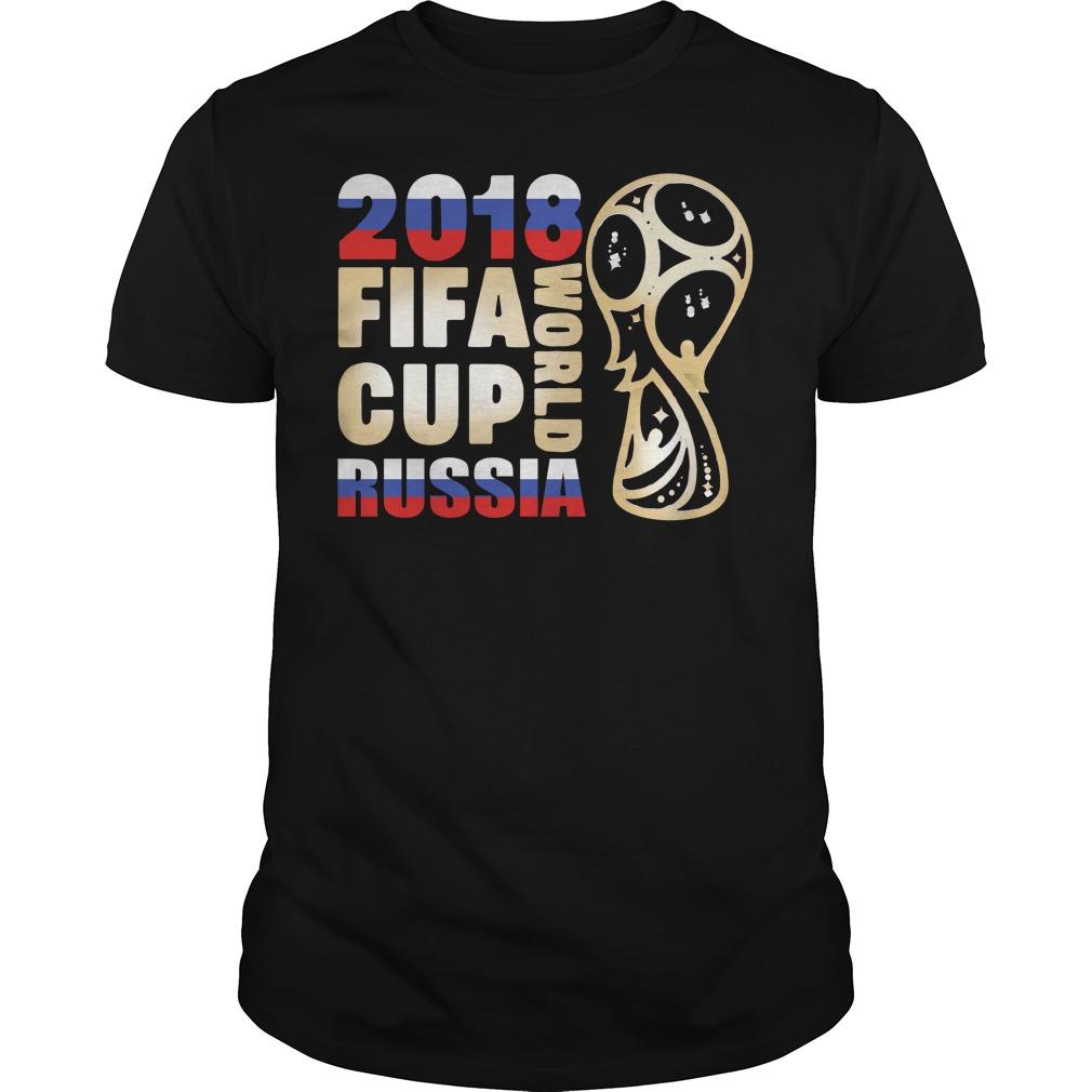 Fifa World Cup Russia 2018 shirt
