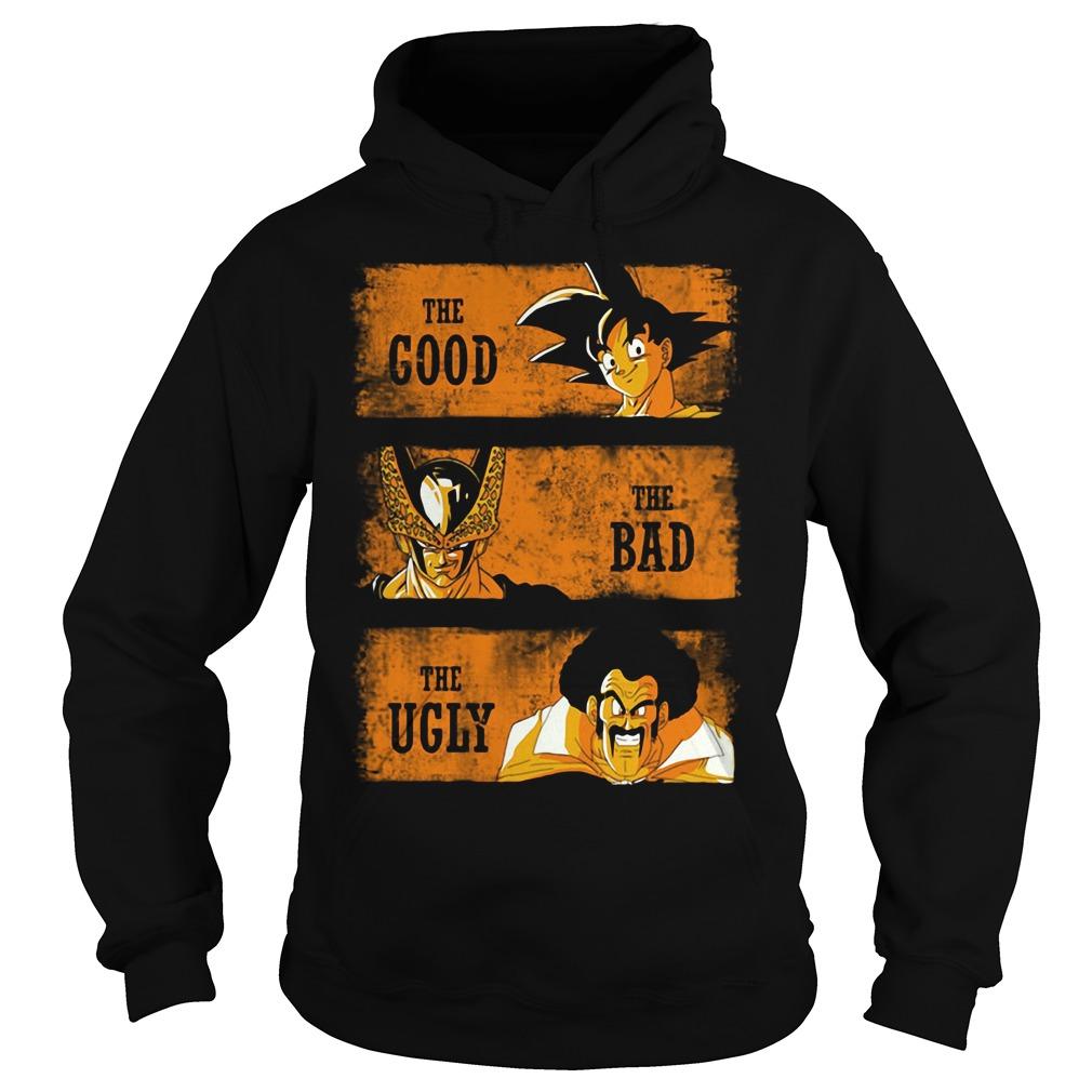 Goku the good - Sorbet the bad - Mr Satan the ugly Hoodie