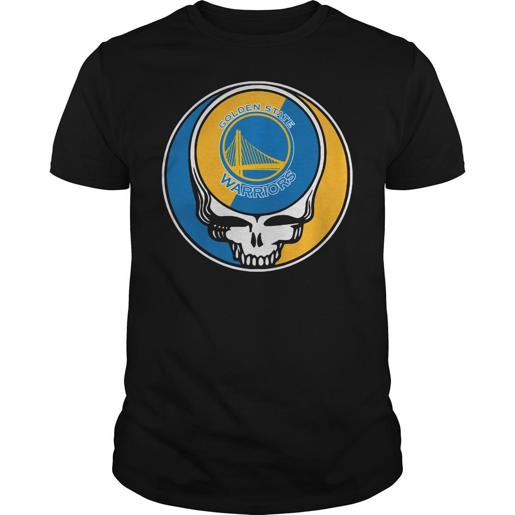 Grateful Dead Golden State Warriors shirt