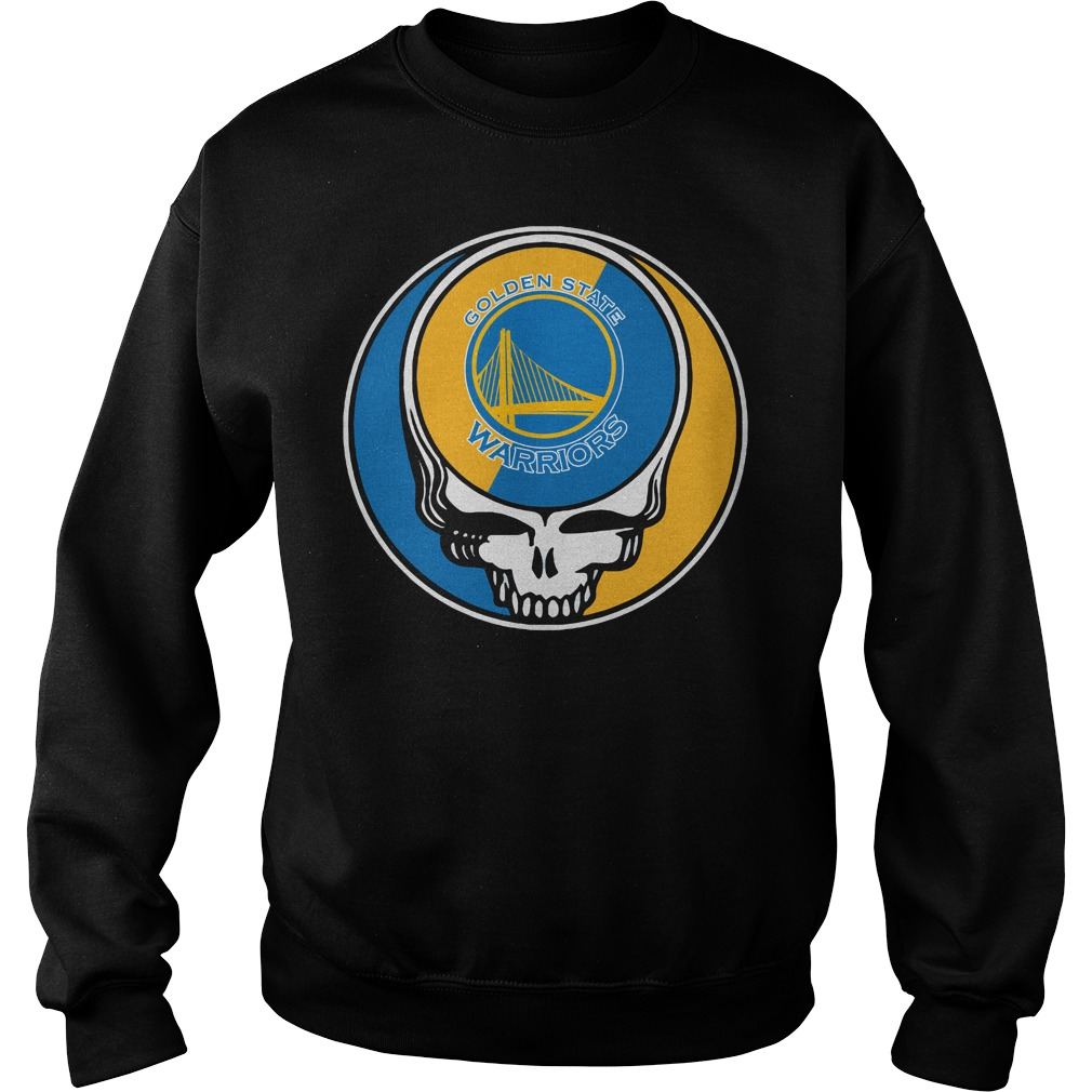 Grateful Dead Golden State Warriors Sweater