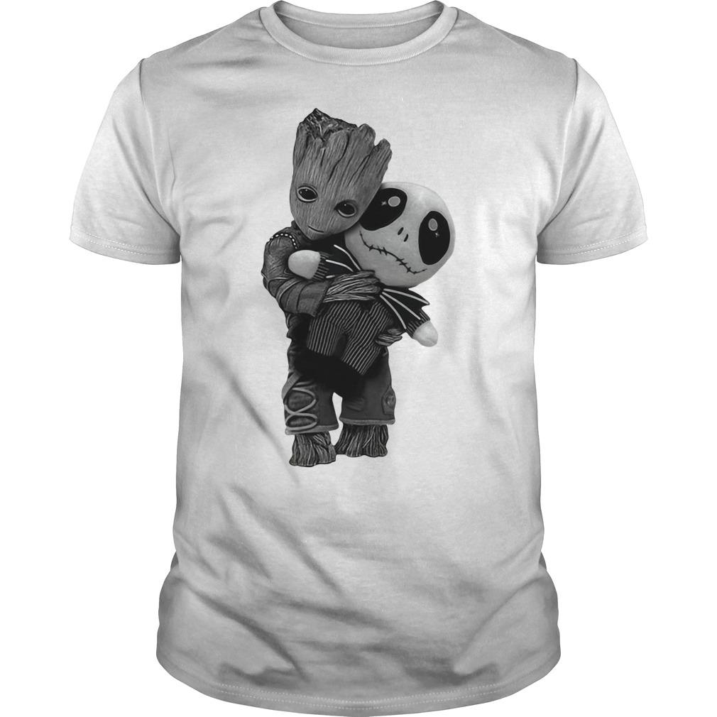Groot hug Jack Skellington the Nightmare shirt