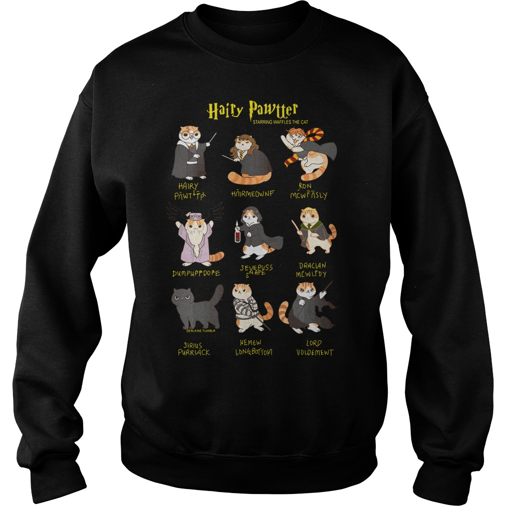 Harry Potter Cats: Hairy Pawtter Sweater