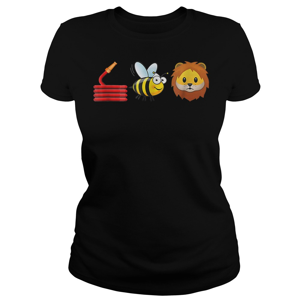 Hose Bee and Lions cute shirt