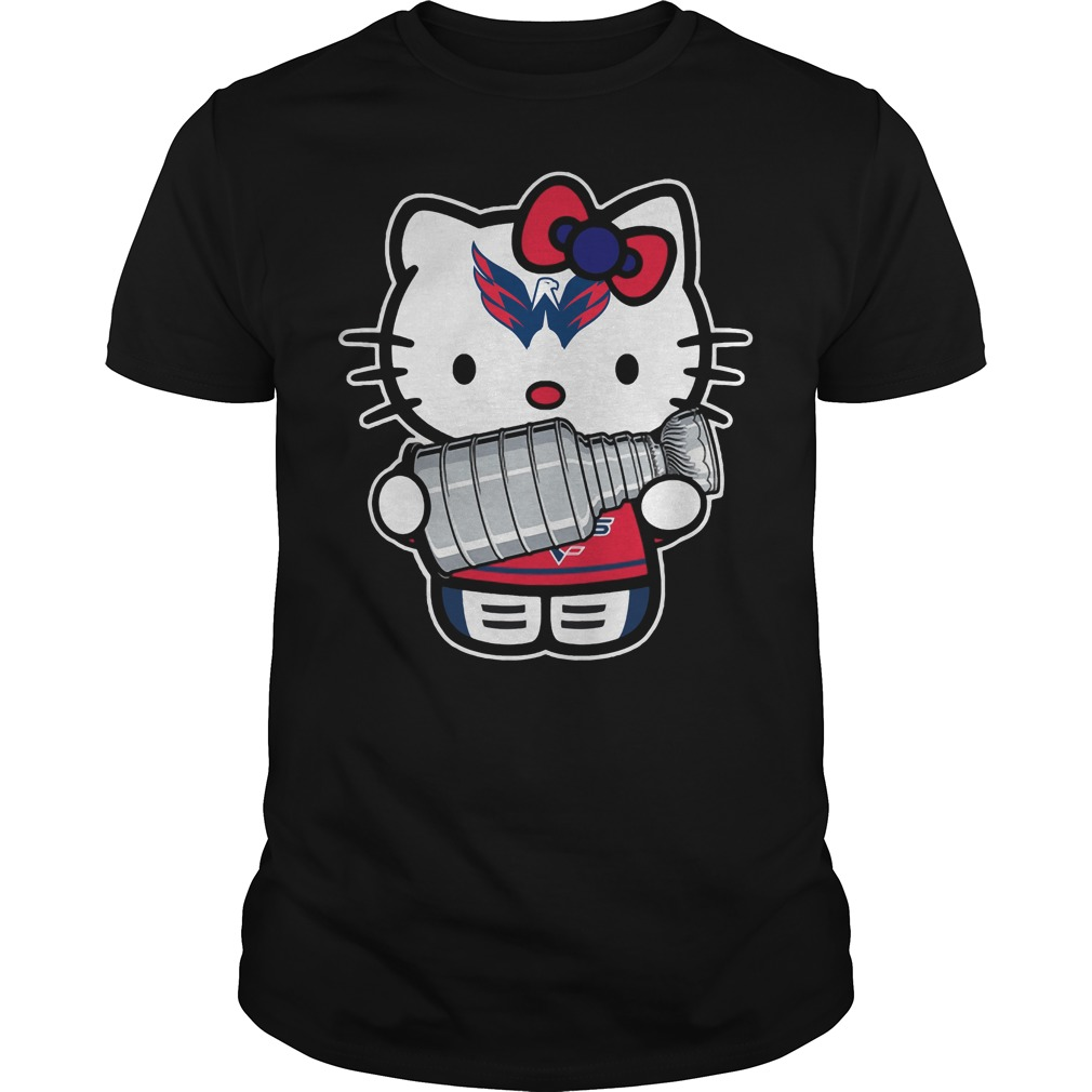 Kitty Washington Capitals Stanley Cup Champions Guys shirt