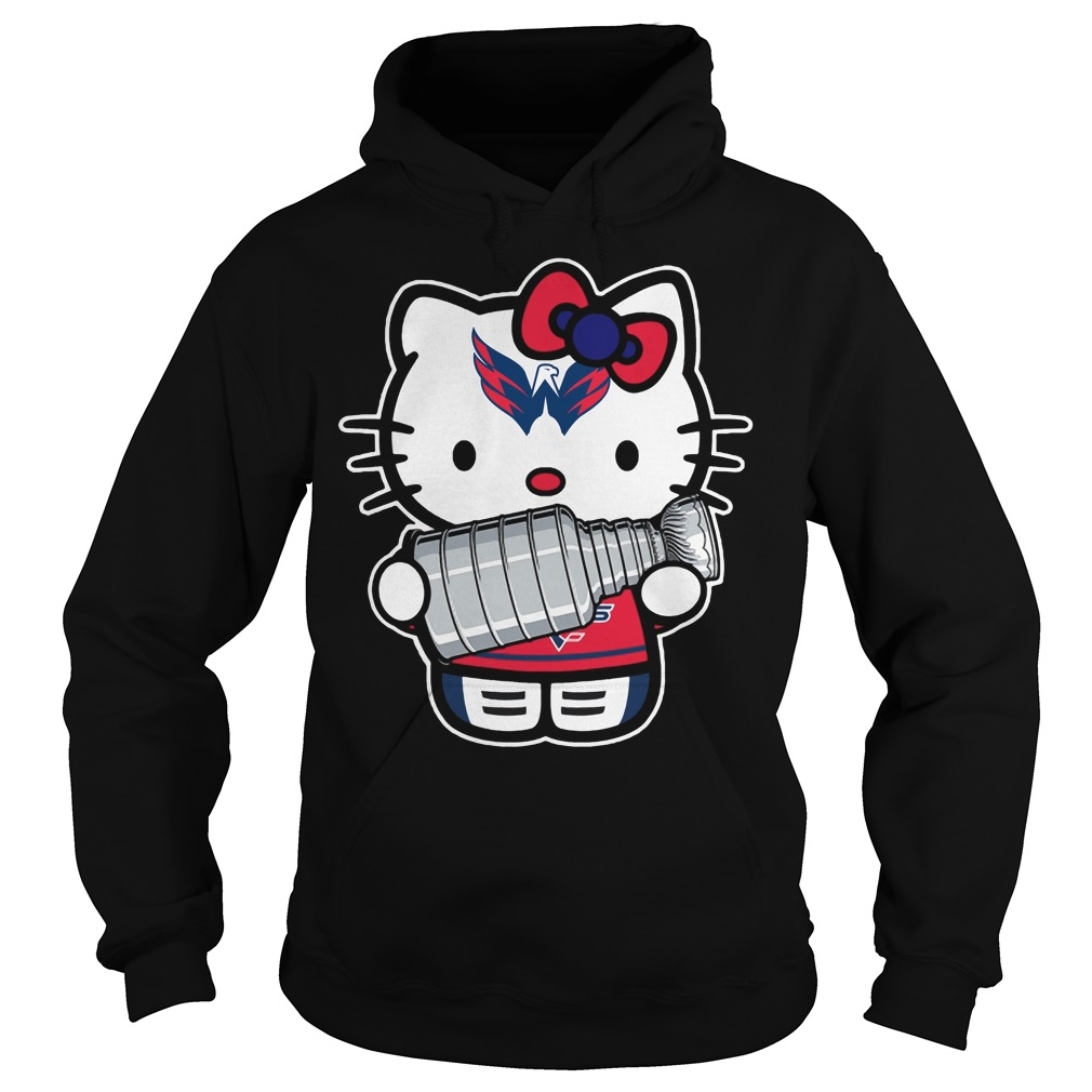 Kitty Washington Capitals Stanley Cup Champions Hoodie
