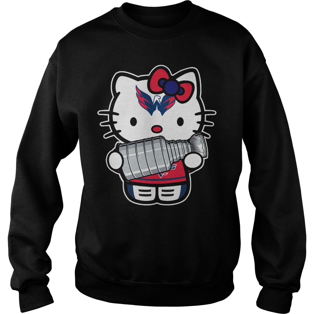 Kitty Washington Capitals Stanley Cup Champions Sweater