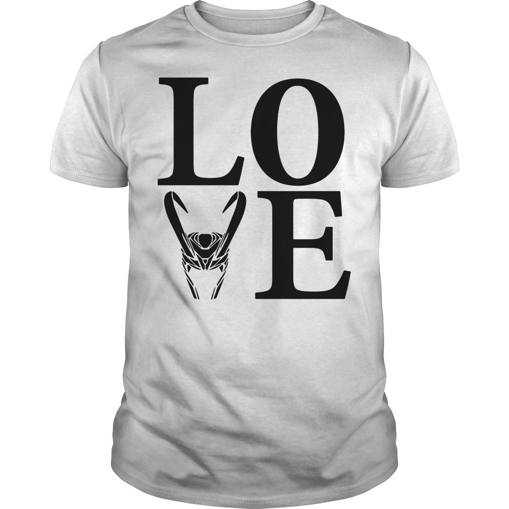 Love Loki Silhouette shirt