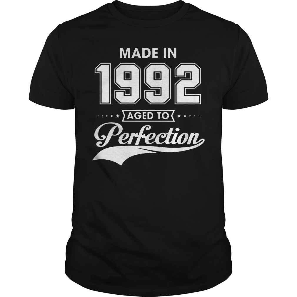 Made in 1992 aged to Perfection shirt