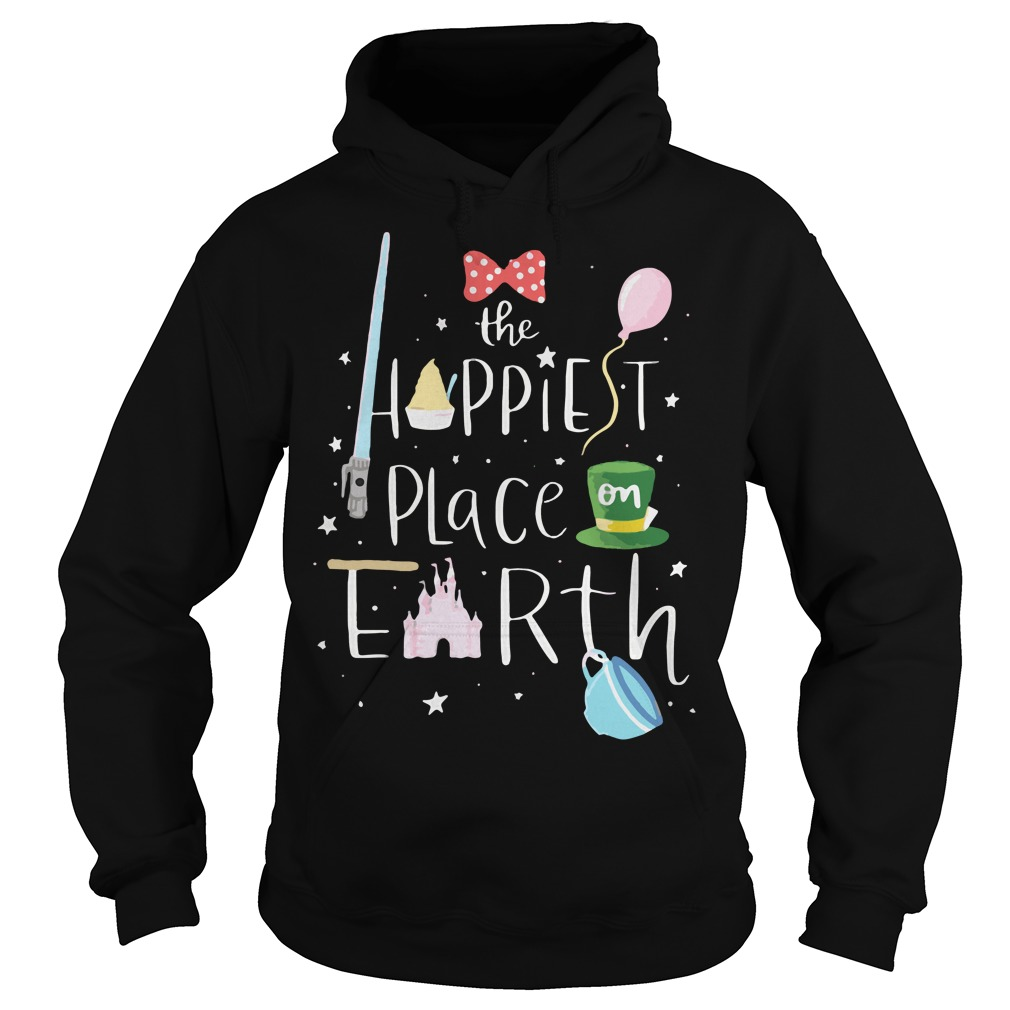 Mickey the happiest place on earth Hoodie