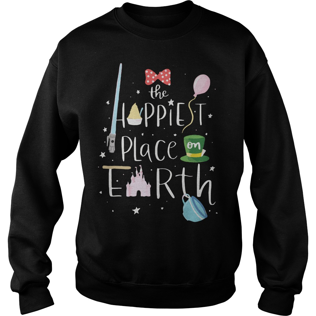Mickey the happiest place on earth Sweater