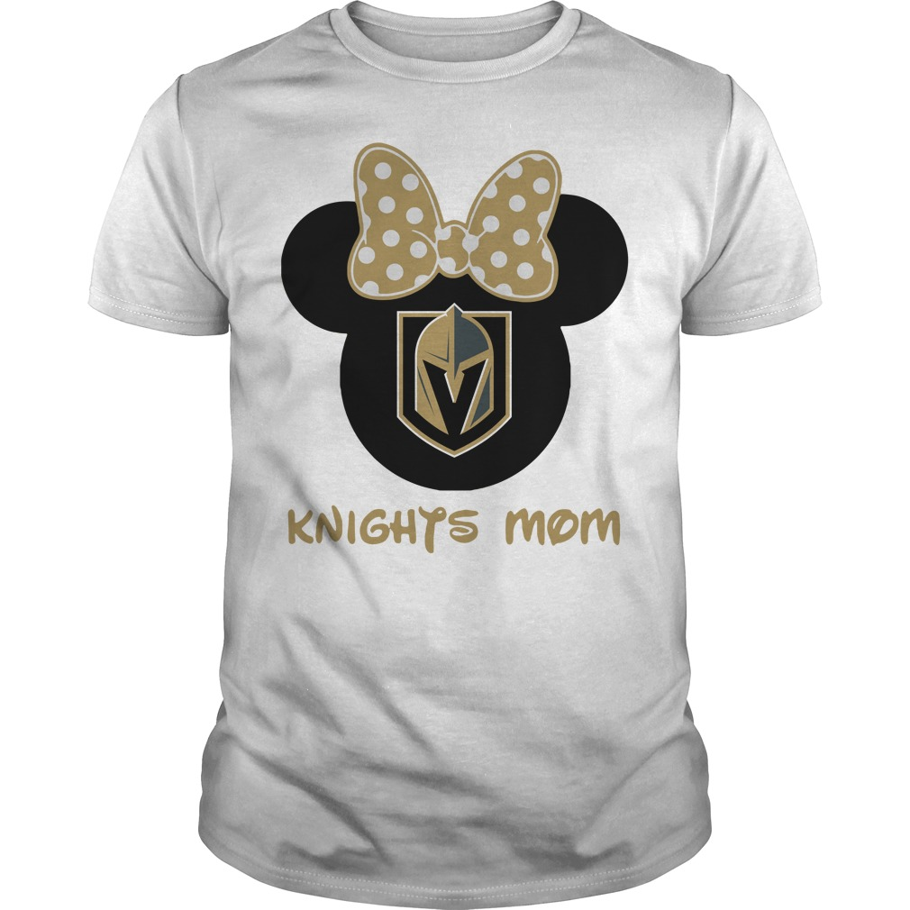 Minnie Vegas Golden Knights Mom Guys shirt