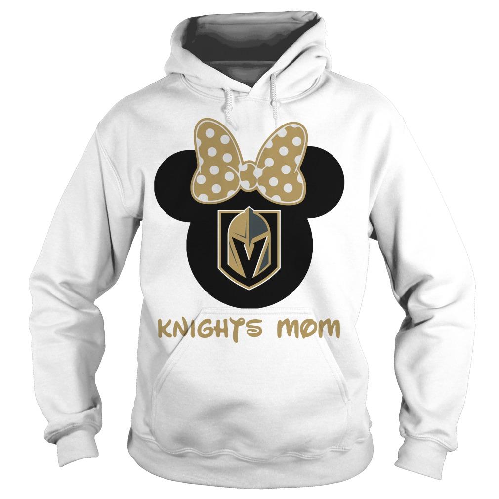 Minnie Vegas Golden Knights Mom Hoodie