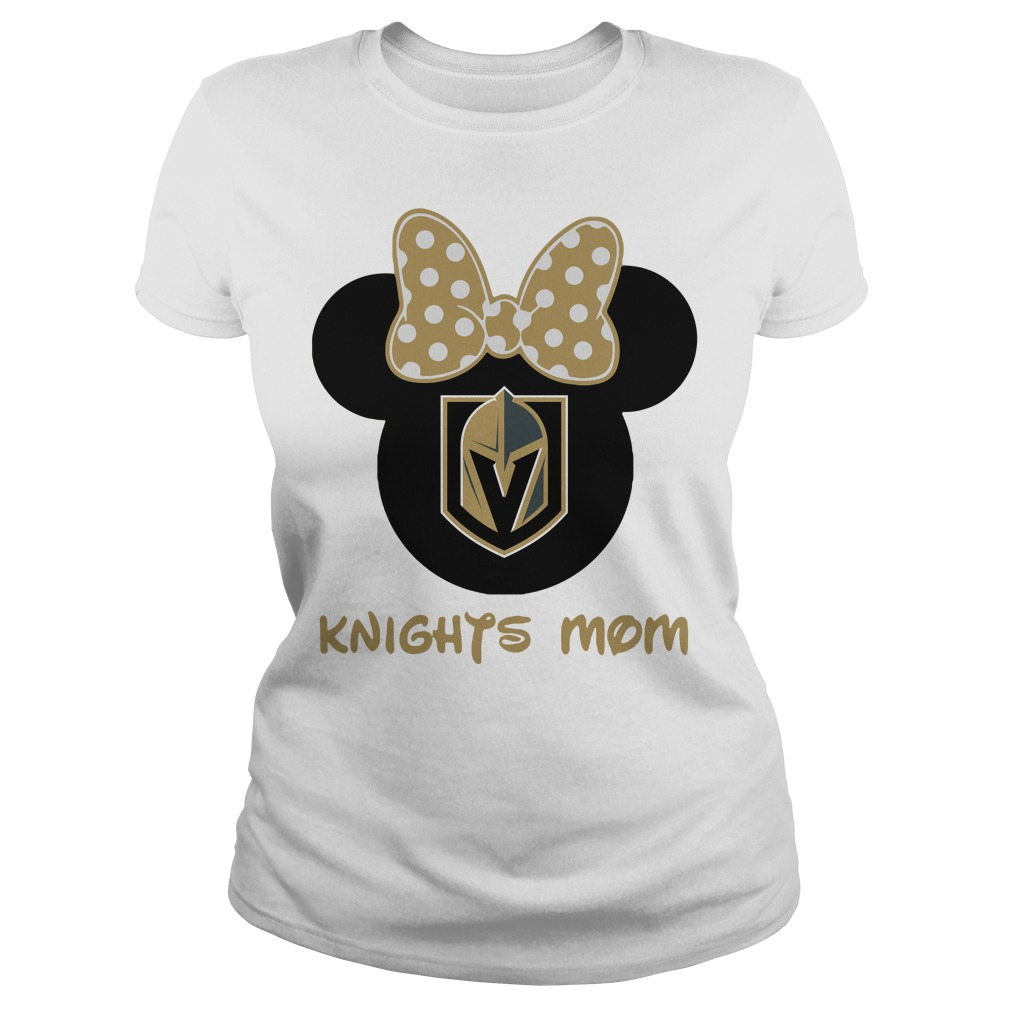 Minnie Vegas Golden Knights Mom shirt