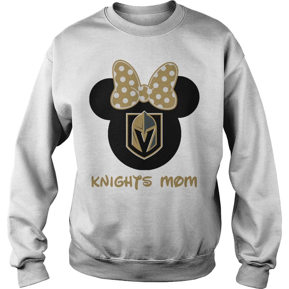 Minnie Vegas Golden Knights Mom Sweater