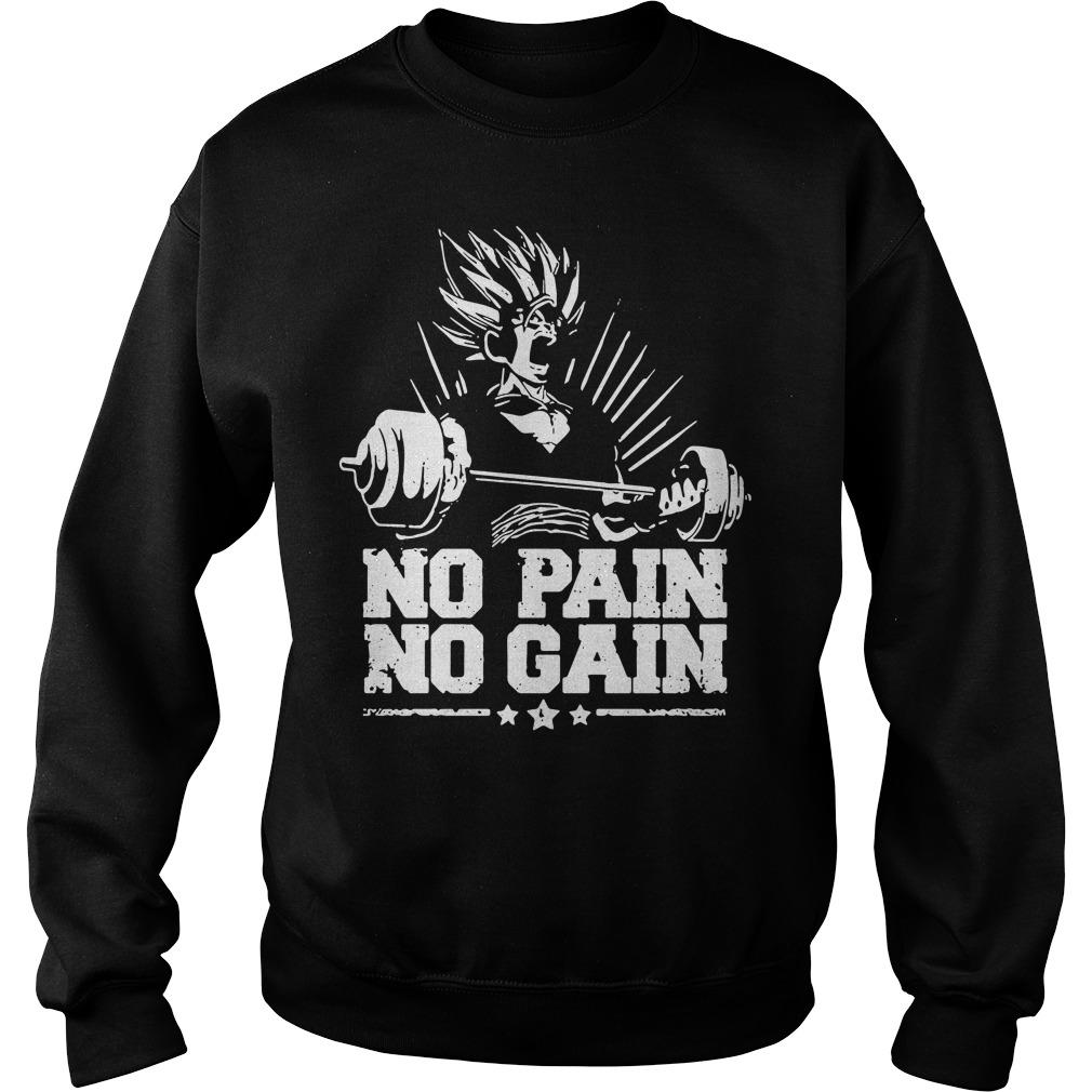 No pain no gain Dragon Ball Z Sweater
