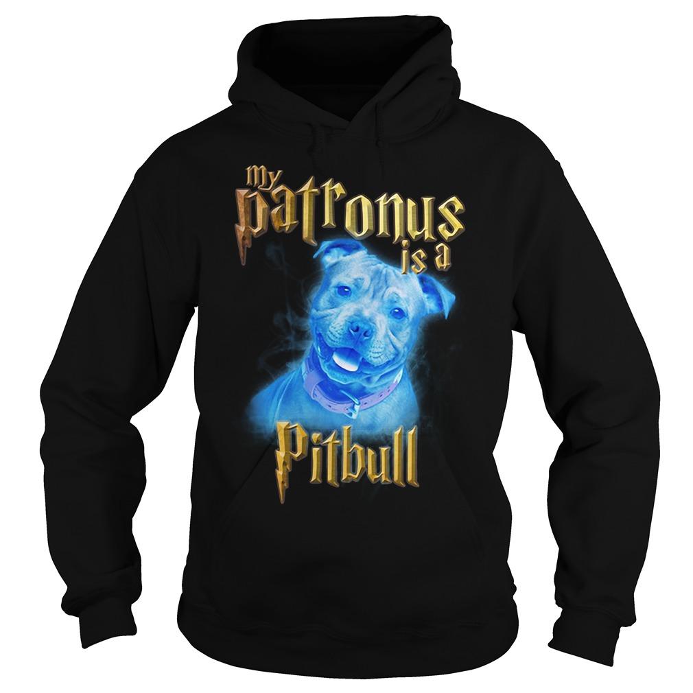 My Patronus is a Pitbull Hoodie