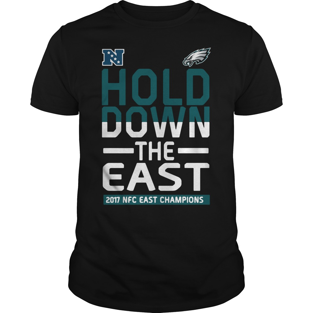 Philadelphia Eagles Hold down the East 2017 NFC Champions shirt 9ffc2fc7c