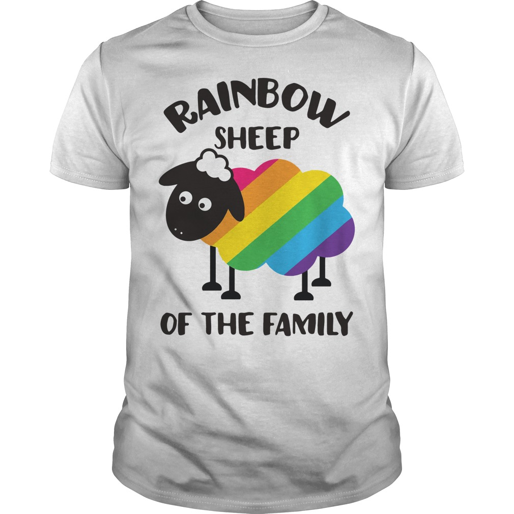 LGBT Rainbow sheep of the family Guys shirt