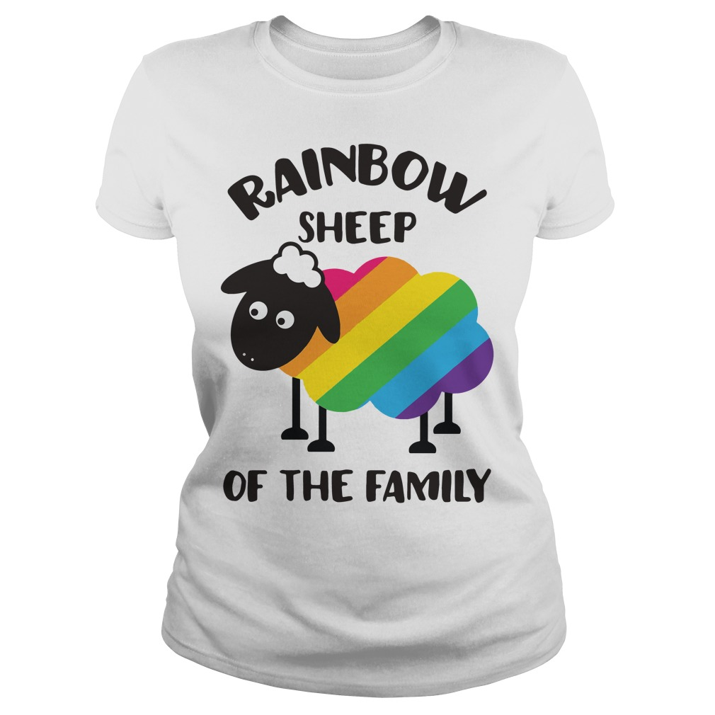 LGBT Rainbow sheep of the family shirt
