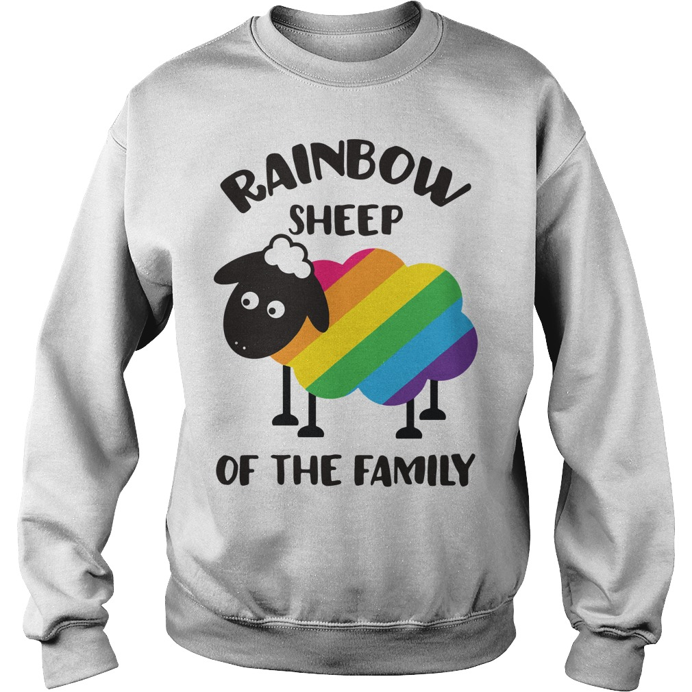 LGBT Rainbow sheep of the family Sweater