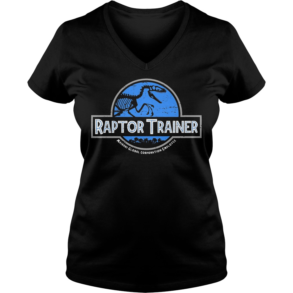 Raptor Trainer - Jurassic World V-neck t-shirt