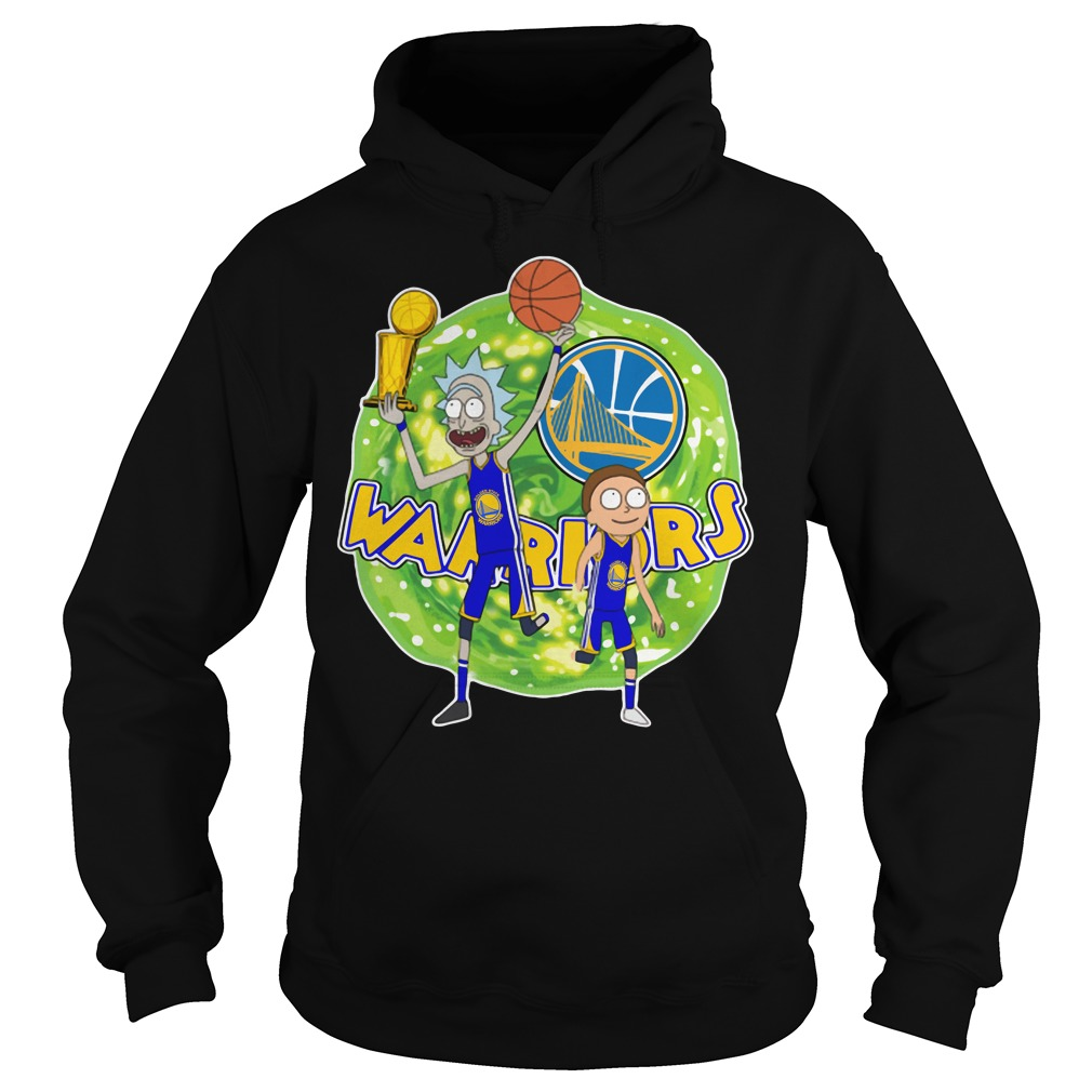 Rick and Morty Warrior - Golden State Warriors Hoodie