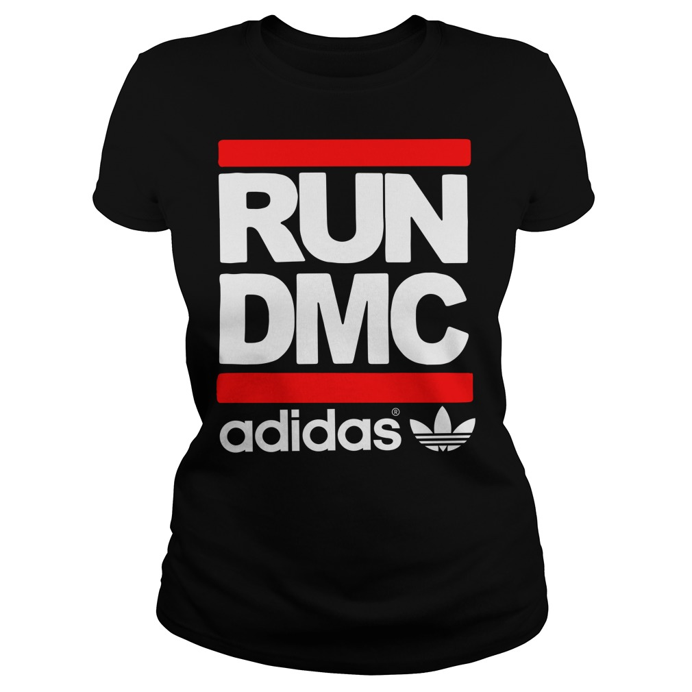 Run DMC adidas Ladies tee