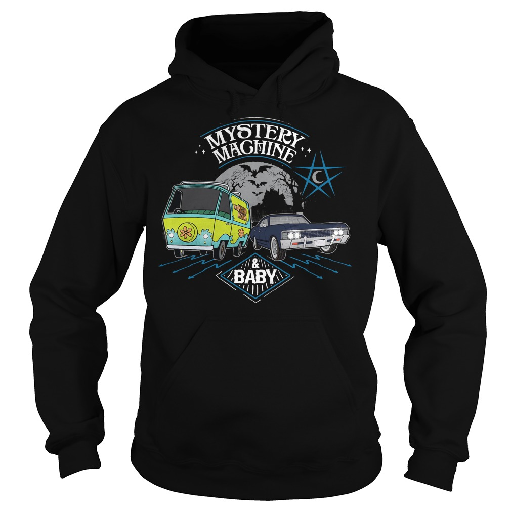 Scooby Doo Mystery Machine and Baby Hoodie