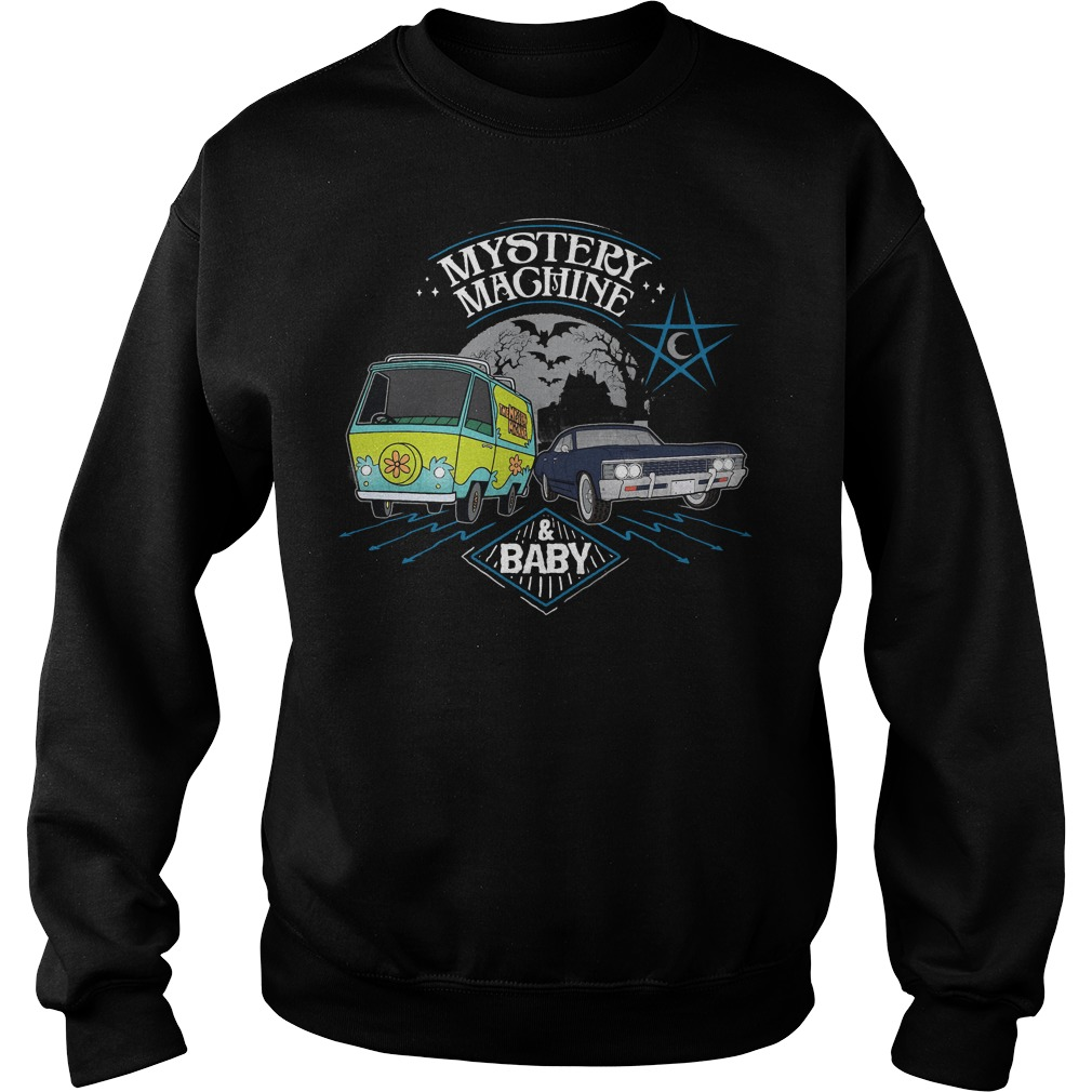 Scooby Doo Mystery Machine and Baby Sweater
