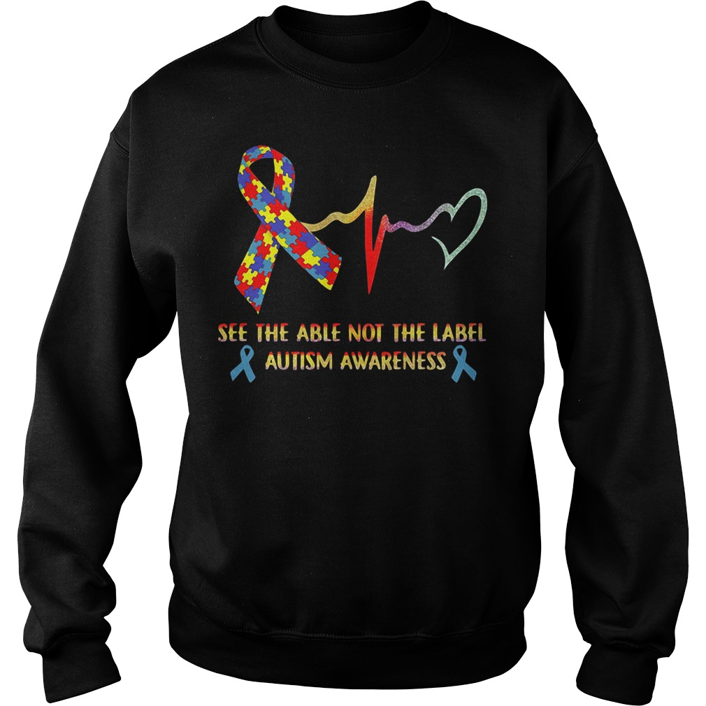 See the able not the label Autism Awareness Sweater
