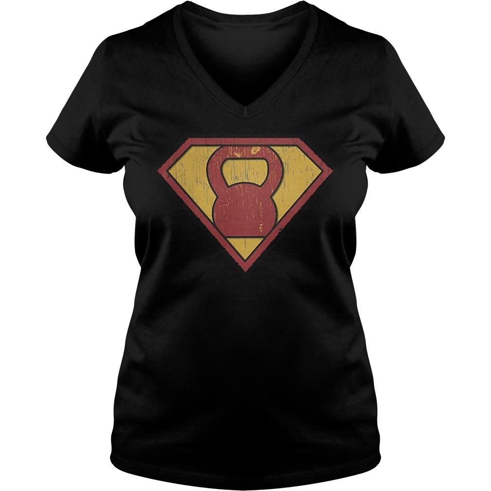 Super Cattle Bell V-neck t-shirt