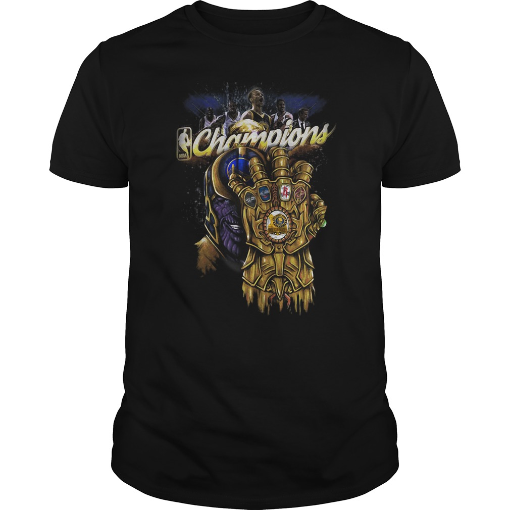 Thanos Champions Gold Warrior shirt